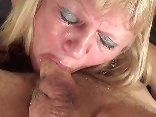 mature gags and loves it