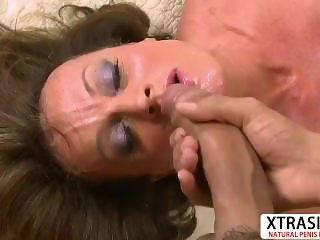 Horny Step Mom Riley Wayne Gives Titjob Hard Teen Stepson