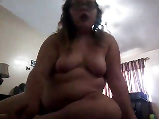 Young fatty on cam