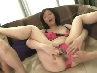 Mon is fucking my boy friend - Asian Mature Porn Video