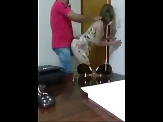 Wife cheats on husband with African in office