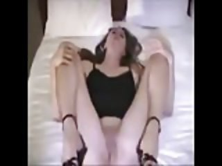 Amateur Wife gets Creamed in Bareback BBC Gangbang