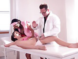 Dominant Doc And Nurse Fuck the Ass of Gina Gerson