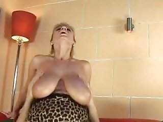 Big Saggy Tits Mommy Fucked By Young guy
