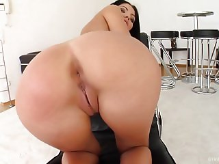 Sapphix presents Rivera in a solo masturbation scene