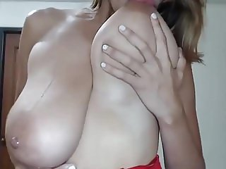 HUGE MASSIVE NATURAL  LATINA BOOBS COMPILATION