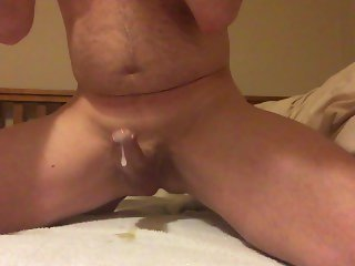 prostate milking - cum several times