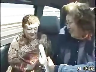 BBW Jap Grannies on a Tour Bus