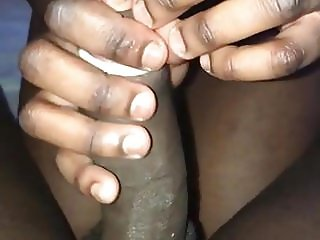 French black bitch on my dick