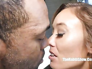 korean christy Love taking bbc chocolate