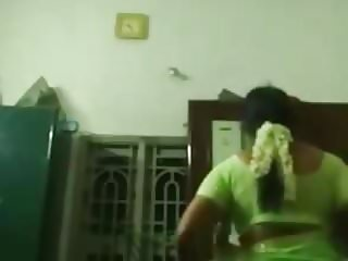 Tamil wife changing caught by hidden cam