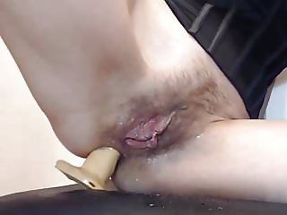 Hairy Pussy and Anal Musturbate