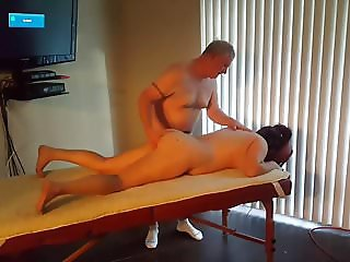 Massage and fucking