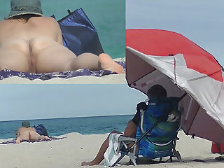 VoyeurChamp.com Exhibitionist Wife Heather Vs Nude Beach!