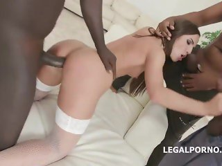 Kristy Black gets 5 BBC with Balls Deep Anal