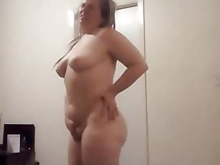White pussy perfect round ass booty twerk