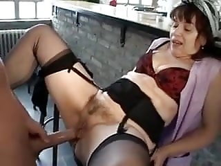 Mature woman and guy - 54