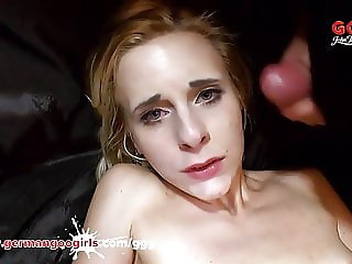 Skinny Ashlee gets her pussy stretched by a monster cock