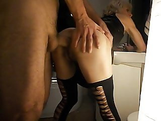 ANAL WHORE IN BATHROOM