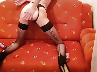 masturbating and a little bit of doggy