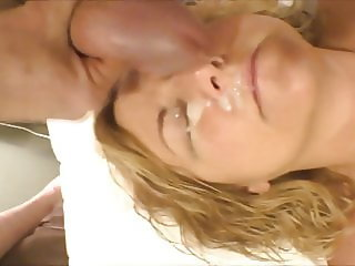 Obedient Wife lets me Jackoff on Her