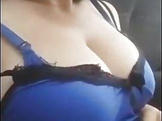 Turkish young lady displays her body