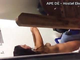 Sri lankan hidden cam in hostel