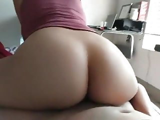 ass from pussygirl.info bouncing on my cock