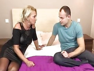 Mature Blonde Gets Fucked Hard