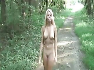 Cute Blonde Getting Naked