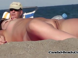 Amazing Hot Bodies Mature Nudist Ladies Beach Voyeur