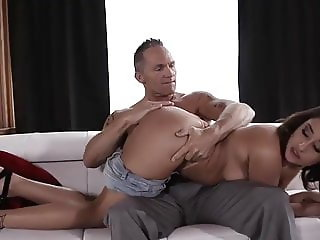 Hot Teen Fucks Step Daddy