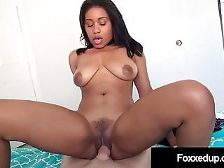 Young Black Jenna Foxx Does Interracial Fuck For School Help