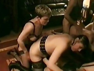 French homemade BDSM orgy