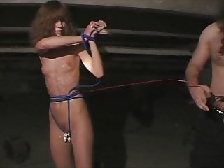 Absolute Submission with Whipping and Nipple Torture Clamps