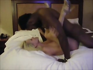 Busty wife black dicked