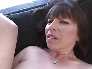 Granny gets fucked by black man anal fucking