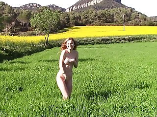 Outdoor nude walk 10