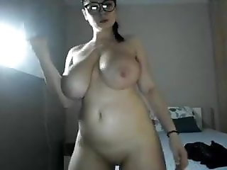 Very attractive sexy girl with a big boobs