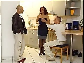 Mom fucked by his buddy