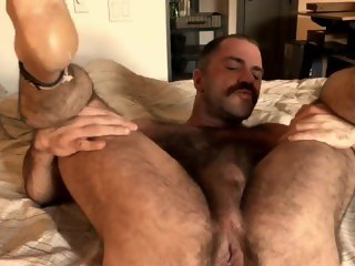 David showing off his hole