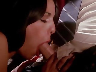 Double Blowjob Under The Table