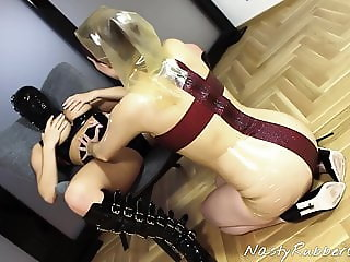 Girl Behind The Latex Mask, Latex Nun, Strap-On