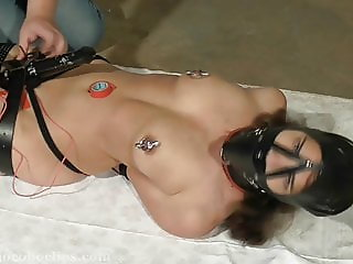 BDSM Movie with a slavegirl Rope Nightmare