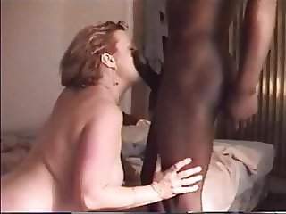 Worshipping black cock