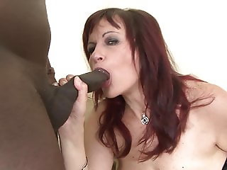 Big tits cougar pissing on the floor after hairy hardcore