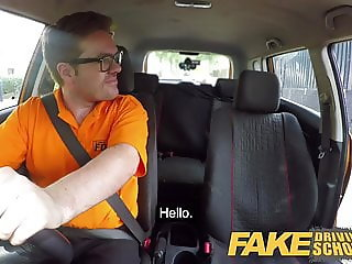 Fake Driving School Hot Italian nympho minx Valentina Bianco