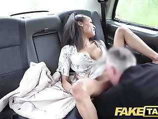 Fake Taxi Petite ebony with big tits works drives cock