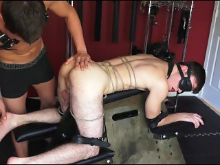 bound and fucked slave