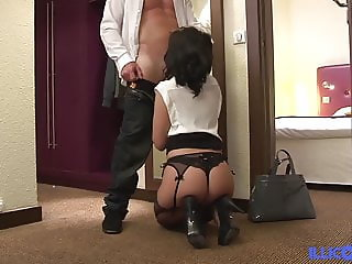 Ana in classy evening wants to be fucked
